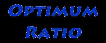Optimum Ratio